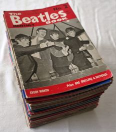 The Beatles Monthly : 70 Original 1960's Editions