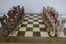 Chess Greek Mythology Olympus Gods.