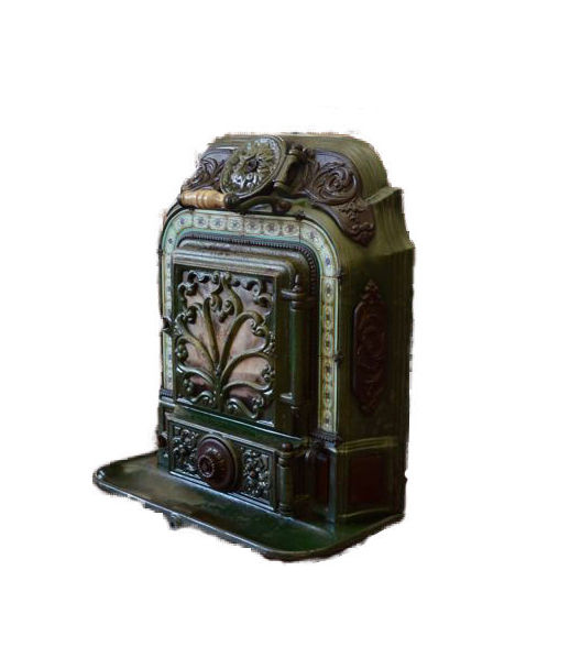 Salamander Stove Made Of Cast Iron France Ca 1870