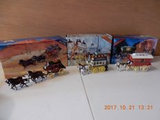 Matchbox - Scale approx. 1/43 - Lot with 3 models: 3 x series Horse Drawn Vehicles - YSH 03, YSH 2 & YSH 1