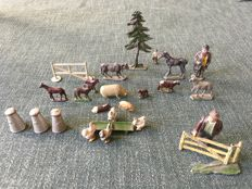 lead farm figurines