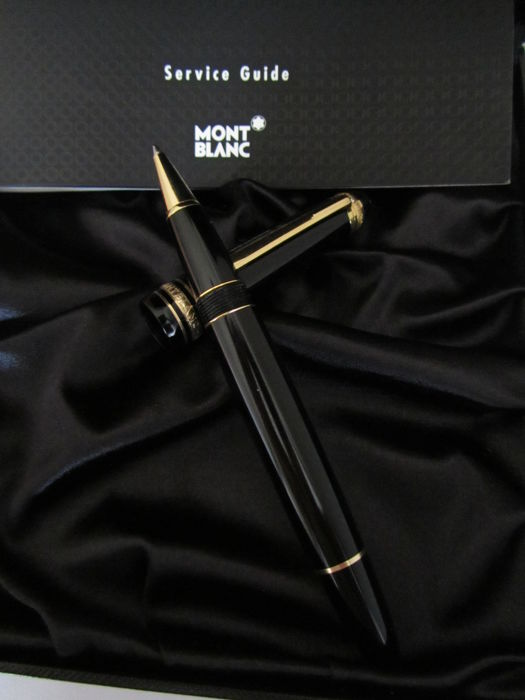 Rollerball pen Montblanc LeGrand 163 - diamond and 18kt gold, 75th anniversary - limited edition, 1924. no reserve price.