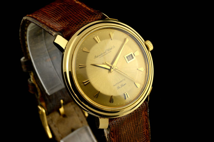 IWC - De Luxe Automatic  Gold - 18K - Men - 1960-1969