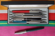 First Year Jotter + 5 Vintage Parker Jotter Ballpoints Made In U.S.A.