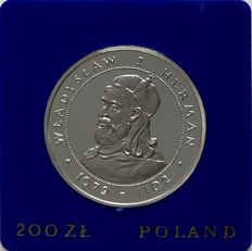 Poland - 200 Zloty 'King Wladyslaw I Herman' 1981