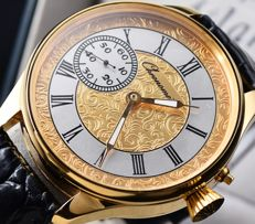 CHRONOMETRE Swiss  - beautiful converted pocket watch - from begening of XX Ct. - Hombre