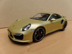GT-Spirit - Schaal 1/18 - Porsche 911 (991) Turbo Exclusive - Limited Edition 991 pcs