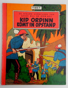 Chick Bill - Lombard Collectie 20 - Kid Ordinn komt in opstand - sc - 1e druk - (1956)