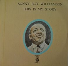 "Sony Boy Williamson - Lot of 5  Vinyl LPs - Mint / Near Mint (USA & Spain Editions) ""This is my story"" / ""One way out"" / ""S.B.W. with Big Joe Williams"" /  ""Live with The Yardbirds - Eric Clapton"" / ""with Jimy Page & Friends"""