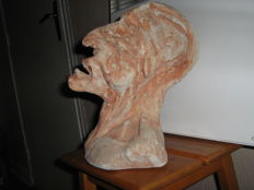 Rare old plaster sculpture