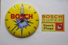 Advertising clock - BOSCH - ca. 1960