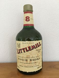 Littlemill 8 years old - older bottling