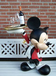 Disney, Walt - Life-size figure - Mickey Mouse Butler (1980s/90s)