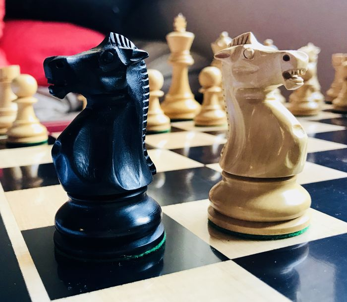 Champions chess with classic clock