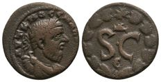 Roman Empire - MACRINUS (217-218 AD), Æ17 of Antioch, Syria - 17mm; 3.84g; 6h