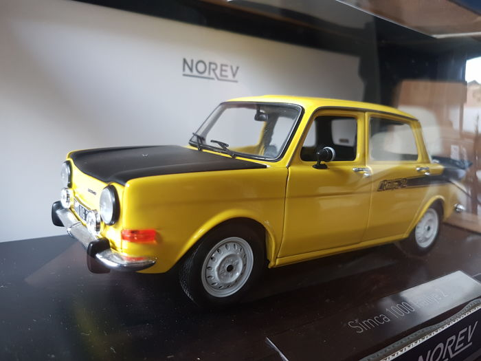 Norev - 1:18 - Simca 1000 - simca rally