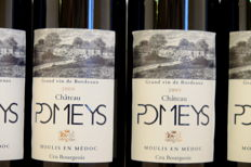 2009, Chateau Pomeys - Moulis  France, 6 Bottles.