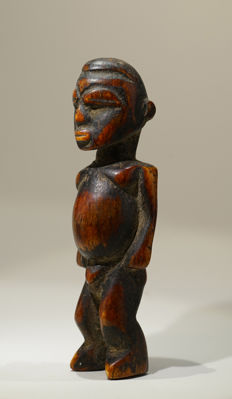A LOBI ivory bateba, Central Gaou region, probably close to Loropeni, Burkina Faso