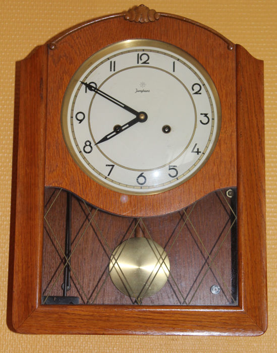 Art Deco wall clock - Junghans - ca. 1935