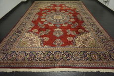 Magnificent hand-knotted Indo Sarouk 290 × 430 cm made in India, end of the 20th century