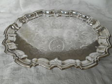 Antique caberet, Eales, 1799, silver plated