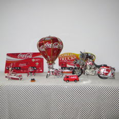 Collection of Coca Cola item - 2nd half of the 20th century