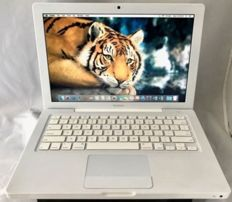 Apple MacBook in white - 160gb - 4gb ram in good condition without charger .