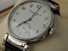 35. IWC Schaffhausen men's marriage wristwatch 1908-1909