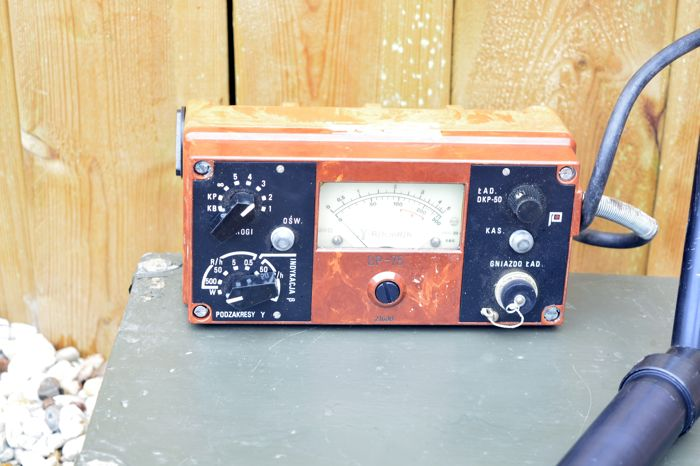 Cold war military Gaiger counter.