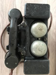 "Type ""F"" field phone of the English army, WWII (circa 1940)"