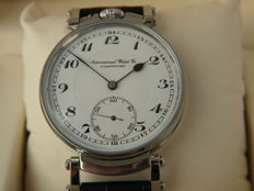 01 IWC Schaffhausen men's marriage wristwatch 1905-1906