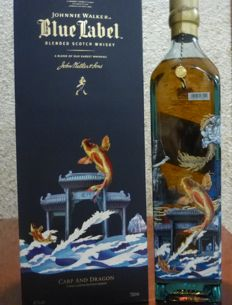 Johnnie Walker Blue Label  - Carp and Dragon