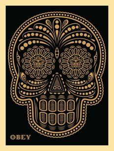 Shepard Fairey (OBEY) & Erensto Yerena -  Day of the Dead
