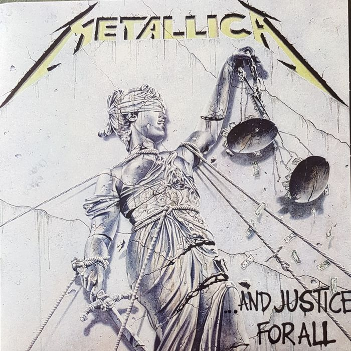 Metallica Quot And Justice For All Quot 2 Lps Promo From Brazil