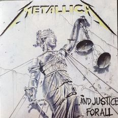 "Metallica  ""...And Justice For All""  2 LPs  PROMO  from Brazil"