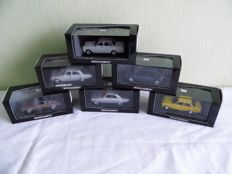 Minichamps - Scale 1/43 - Lot with 6 models: 6 x Ford