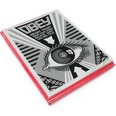 Shepard Fairey (OBEY) - Arkitip Box Set - Book + Obey Eye Print