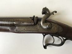 Beautiful percussion rifle St-Etienne - ca. 1830