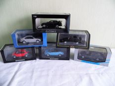 Minichamps / Vitesse / AUTOart - Scale 1/43 - Lot with 6 models: 6 x Ford
