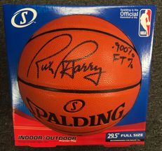 Rick Barry Signed Full Size Basketball AUTO BAS Beckett Witnessed COA Autographed Spalding Basketball with Certificate of Authenticity NBA HOF. No Reserve Price