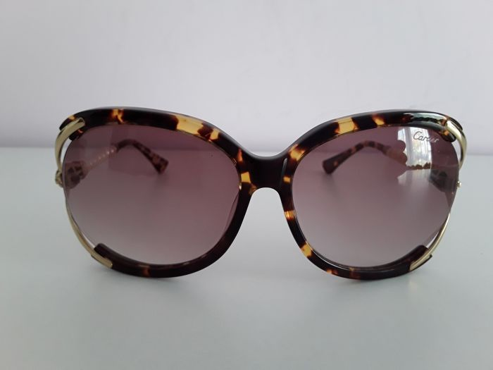 7ba7b6ba4e39e Cartier- Panthere-Sunglasses - Catawiki