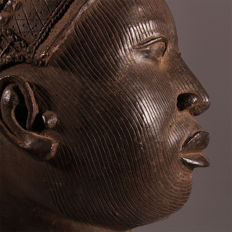 Masterpiece Amazing head of an Oni - IFE - former Kingdom of Benin-Nigeria