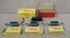 Triang TT - T.90/T.179 - Jinty 0-6-0 Steam Tank Locomotive And 3 Mineral Wagons