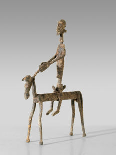 A DOGON iron sculpture, Mali