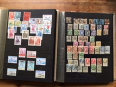 Belgium 1852/1969 – Collection in two stock books