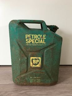 Jerry can BP 20L - BP PETROLE SPECIALE - 1940