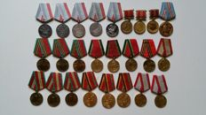 Russia/USSR - 25 Medals