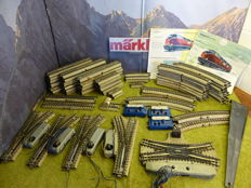 Märklin 00/H0 - DKW 3600 - M-rail and points