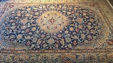 Persian Naïn with silk, mint condition,  300 x 214 cm