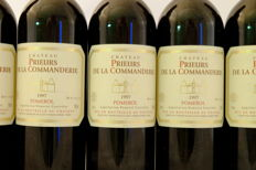 1997, Chateau Prieurs de la Commanderie, Pomerol, France, 6 Bottles.